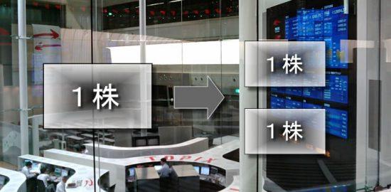 株式分割で株はどうなる?