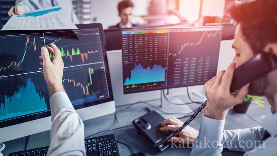 株は証券会社を通じて証券取引所で売買される